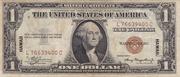 1 Dollar (Silver Certificate; Brown Seal - Hawaii) – avers