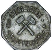10 pfennig - Hayingen (Hayange [67]) – avers