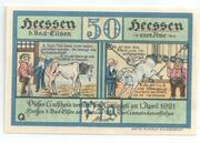 50 Pfennige Heessen (Bad Eilsen) – avers