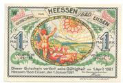 1 Mark Heessen (Bad Eilsen) – avers