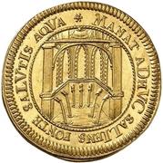 1 Ducat (200 ans de la Réforme) – revers