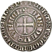 1 Turnose - Dietrich III. – avers