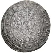 24 Kreuzer - Rudolf VI. (Kipper) – revers