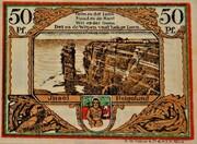 50 Pfennig (Helgoland; Spar- und Leihkasse der Landgemeinde Helgoland) – revers