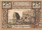 25 Pfennig – revers
