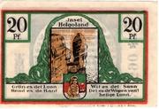 20 Pfennig (Spar- und Leihkasse) – revers