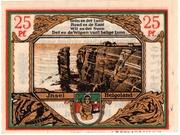 25 Pfennig Spar- und Leihkasse) – revers