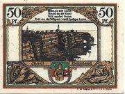 50 Pfennig (Spar- und Leihkasse) – revers