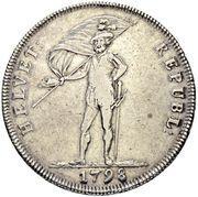 40 Batzen (head facing left) – avers