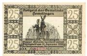 25 Pfennig (Hemdingen) – avers