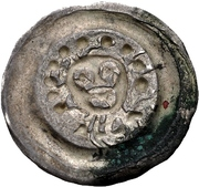 1 Pfennig - Herman I. (Coburg) – revers