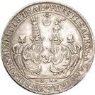 1 Ausbeutethaler - Bernhard III – avers