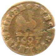 1 Heller - Bernhard von Sachsen-Meiningen – revers