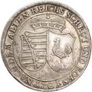 1 Ausbeutethaler - Bernhard III – revers