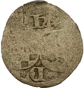 1 Pfennig - Wilhelm V. – avers
