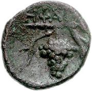 Bronze Æ15 (Hephaistia) – revers