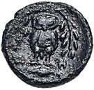 Bronze Æ10 (Hephaistia) – revers