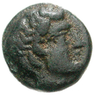 Bronze Æ9 (Hephaistia) – avers