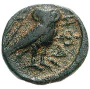 Bronze Æ9 (Hephaistia) – revers