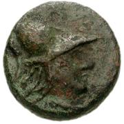 Bronze Æ11 (Hephaistia) – avers