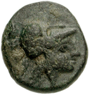 Bronze Æ12 (Hephaistia) – avers