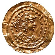 Bracteate - Hephtalites hunnic tribes - Anonymous (Gharwal mint) – avers