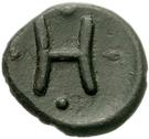 Dichalkon (Heraia) – revers