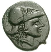 Dichalkon (Heraia) – avers