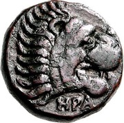 Dichalkon (Herakleia Trachinia) – avers