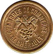 5 centimes - Chambre de Commerce de l'Hérault [34] - ESSAI – avers