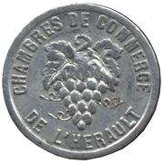 5 Centimes Chambres de commerce de l'Herault [34] – avers