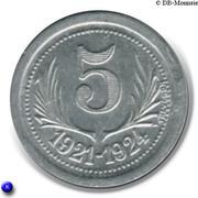 5 centimes - Chambre de Commerce de l'Hérault [34] – revers