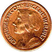 25 centimes - Chambre de Commerce de l'Hérault [34] - ESSAI – avers