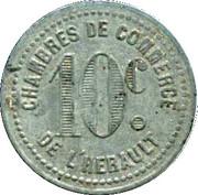 10 centimes - Chambres de Commerce - Hérault [34] -  revers