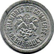 10 Centimes Chambres de commerce de l'Herault  [34] – avers