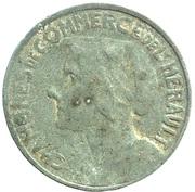 25 centimes - Chambre de Commerce de l'Herault (Zinc, dates proches) [34] – avers