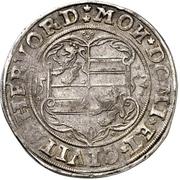 1 Thaler - Anna II von Limburg – avers