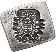 ½ Tallér Klippe - Nagyszeben I. Ferdinánd's Occupation – avers