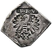 ¼ Tallér Klippe - Nagyszeben I. Ferdinánd's Occupation – avers