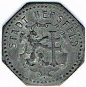 1 pfennig - Hersfeld – avers