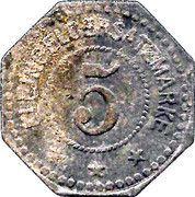 5 pfennig - Hersfeld – revers