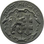 5 pfennig - Hersfeld – avers
