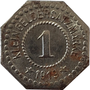 1 pfennig - Hersfeld – revers