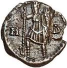 ½ silique Odovacer / Au nom de Zénon, 476-491 (mince proue) – revers