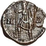½ siliqua Odovacar / Au nom de Zeno, 476-491 (mince proue) – revers