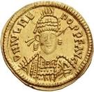1 solidus Odovacer / Au nom de Julius Nepos, 477-480 (Mediolanum/Milan) – avers