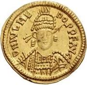 1 Solidus Odovacar / Au nom de Julius Nepos, 477-480 (Mediolanum/Milan) – avers