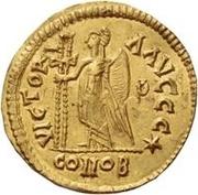 1 Solidus Odovacar / Au nom de Julius Nepos, 477-480 (Mediolanum/Milan) – revers