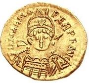1 solidus Odovacer / Au nom de Zénon, 476-491 (sans étoile) – avers