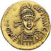 1 solidus Odovacar / Au nom de Basiliscus, 475-476 (atelier incertain) – avers